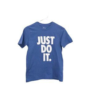 "NWOT Nike ""Just Do It"" Boys Blue T-Shirt"